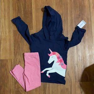 Carters Girl Unicorn 2 Piece Set